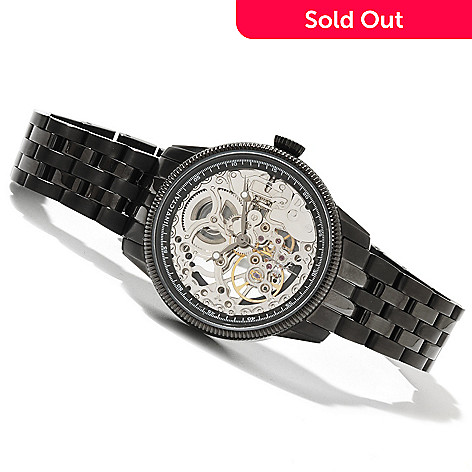 618-428 - Invicta Women's Vintage Collection Skeleton Mechanical Stainless Steel Bracelet Watch