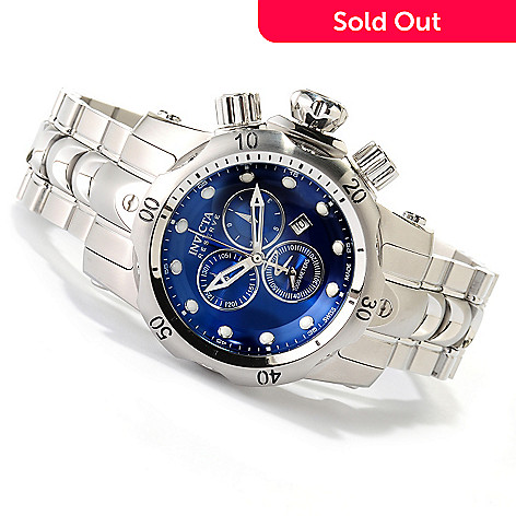 618-455 - Invicta Reserve Mid-Size Venom Swiss Made Quartz Chronograph Stainless Steel Bracelet Watch