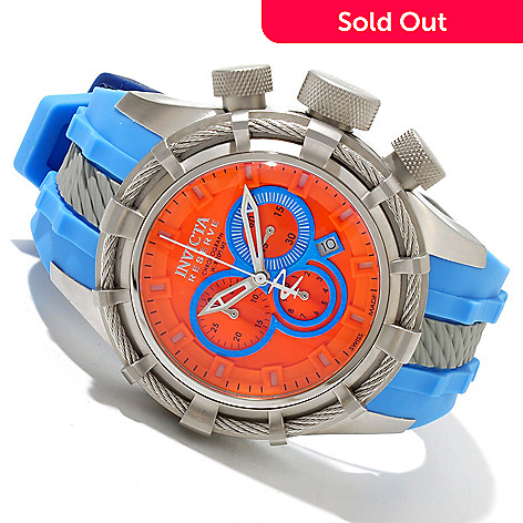 618-459 - Invicta Reserve Men's Bolt Sport ''Puppy Edition'' Swiss Quartz Chronograph Silicone Strap Watch