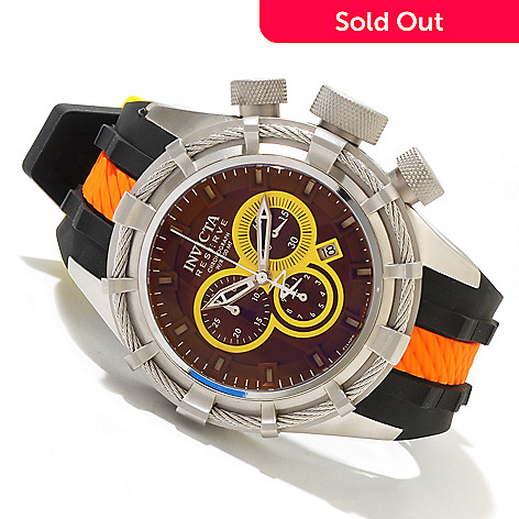 618-460 - Invicta Reserve Men's Bolt Sport ''Puppy Edition'' Swiss Made Quartz Chronograph Silicone Strap Watch
