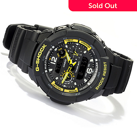 618-469 - Casio Men's G-Shock Quartz Chronograph Digital Alarm Strap Watch