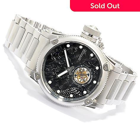 618-503 - Invicta Men's Russian Diver Dragon Limited Edition Mechanical Tourbillon Bracelet Watch