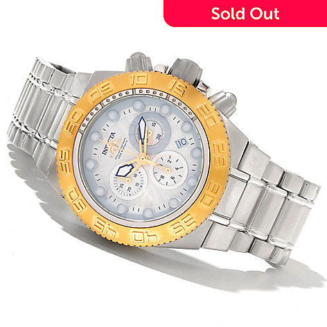 618-515 - Invicta Mid-size Subaqua Sport Quartz Chronograph Stainless Steel Bracelet Watch