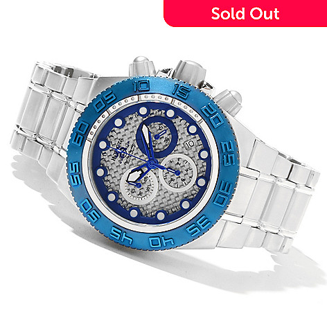 618-517 - Invicta Mid-Size Subaqua Sport Quartz Chronograph Stainless Steel Bracelet Watch