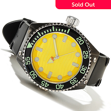 618-524 - Android Men's Divemaster Espionage 2 Stainless Steel Strap Rubber Watch