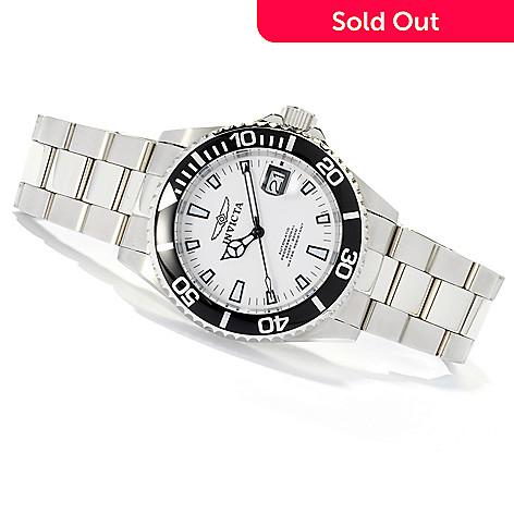 618-541 - Invicta Men's Pro Diver Automatic Stainless Steel Bracelet Watch w/ 8-Slot Dive Case
