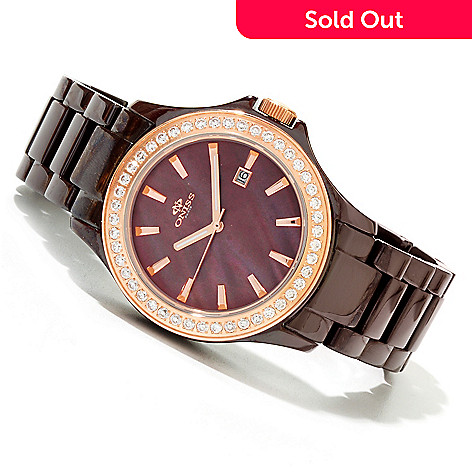 618-568 - Oniss Women's Jolee Quartz Ceramic Bracelet Watch