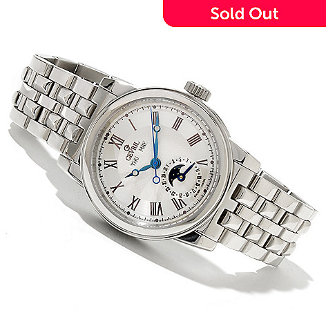 618-638 - Gevril Men's Chelsea Limited Edition Swiss Made Automatic Stainless Steel Bracelet Watch