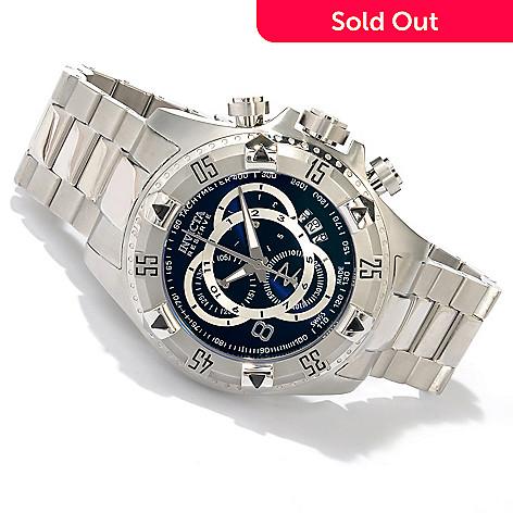 618-658 - Invicta Reserve Men's Excursion Swiss Quartz Chronograph Bracelet Watch w/ 3-Slot Dive Case