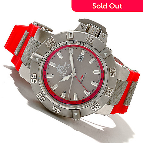 618-673 - Invicta Men's Subaqua Noma III Swiss Made Quartz ''Puppy Edition'' Silicone Strap Watch