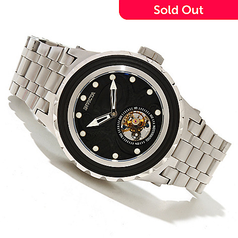 618-676 - Invicta Reserve 52mm Specialty Subaqua Octopus Limited Edition Mechanical Tourbillon Bracelet Watch