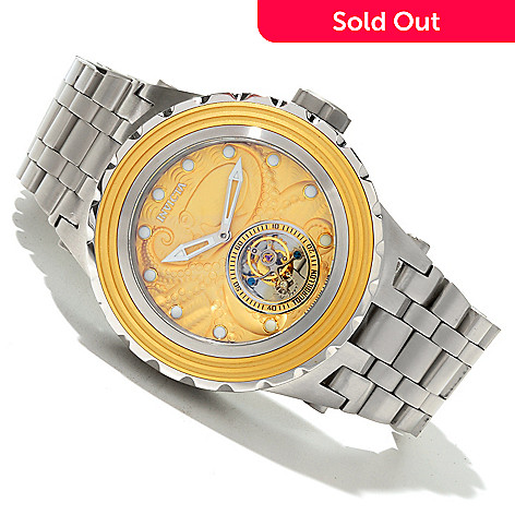 618-677 - Invicta Reserve Men's Specialty Subaqua Octopus Limited Edition Mechanical Tourbillon Bracelet Watch