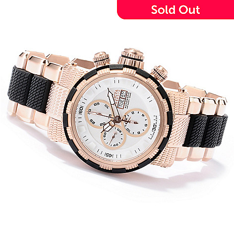 618-680 - Invicta Reserve Men's Specialty Capsule 7750 Valjoux Automatic Chronograph Bracelet Watch