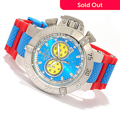 618-774 - Invicta Men's Subaqua Noma III ''Puppy Edition'' Swiss Quartz Chronograph Silicone Strap Watch