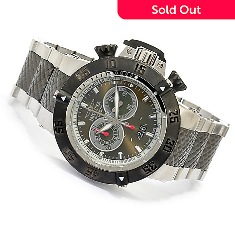 618-783 - Invicta Men's Subaqua Noma III Swiss Quartz Chronograph Stainless Steel Bracelet Watch