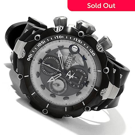 618-826 - Invicta Reserve Men's Venom GEN.II A07 Valgranges Chronograph Titanium Case Silicone Strap Watch