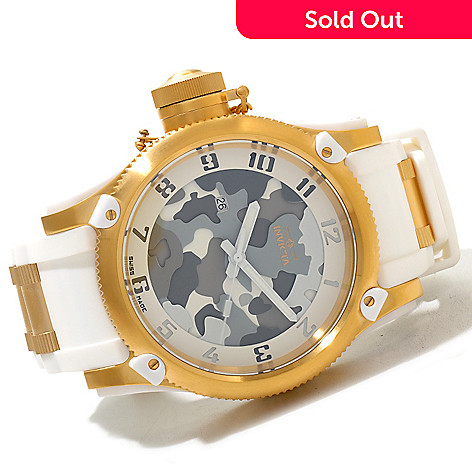 618-853 - Invicta Men's Russian Diver Limited Edition Swiss Made Quartz Polyurethane Strap Watch