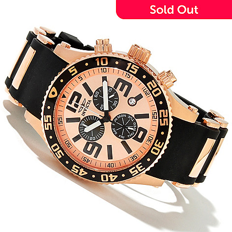 618-866 - Invicta Men's Specialty Diver Quartz Chronograph Polyurethane Strap Watch