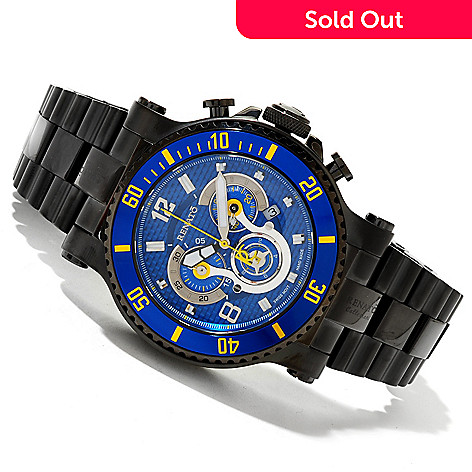 618-892 - Renato 49.5mm T-Rex Diver Limited Edition Swiss Quartz Chronograph Watch