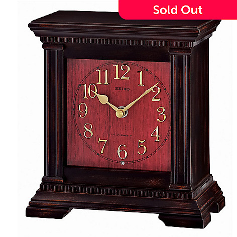 619-013 - Seiko Wooden Musical Mantel Clock