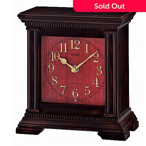 619-013 - Seiko Wooden Musical Mantel Clock