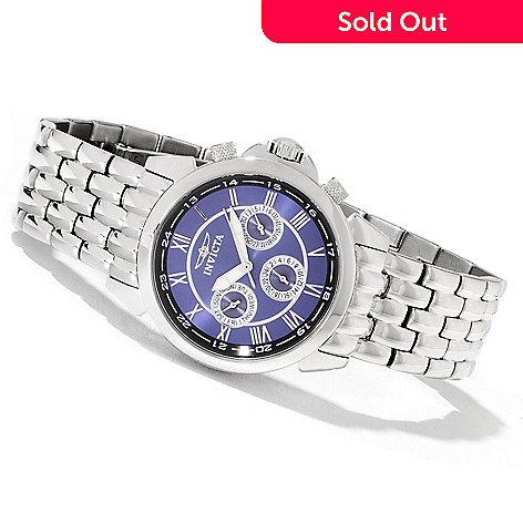 619-112 - Invicta 38mm Specialty Diver Sport Quartz Stainless Steel Bracelet Watch