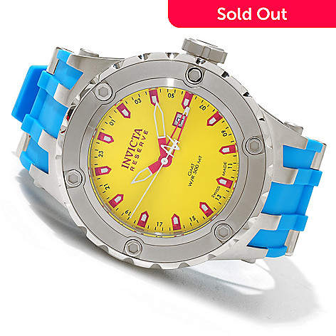 619-115 - Invicta Reserve Men's Specialty Subaqua ''Puppy Edition'' Swiss Quartz GMT Polyurethane Strap Watch