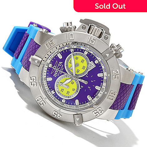 619-119 - Invicta Men's Subaqua Noma III ''Puppy Edition'' Swiss Quartz Chronograph Strap Watch