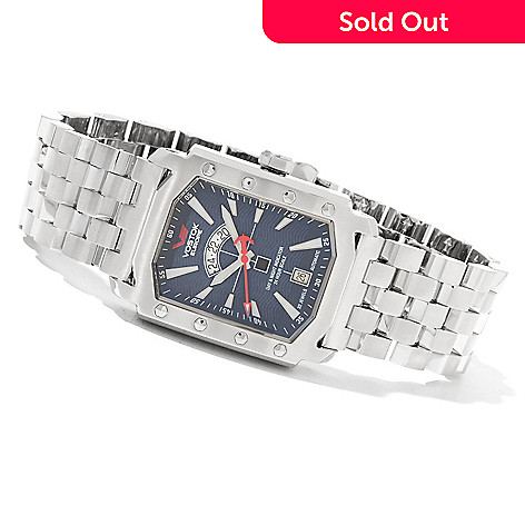 619-128 - Vostok-Europe Men's Arktika Automatic Stainless Steel Bracelet Watch