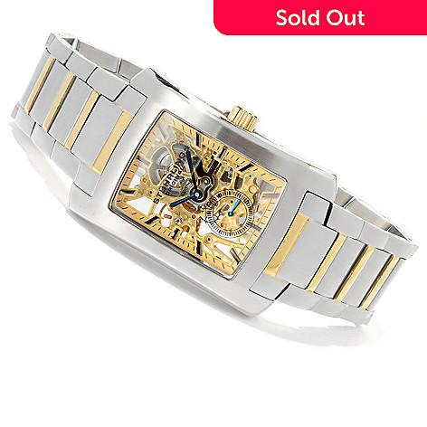 619-166 - Stührling Original Men's Gatsby Elite Mechanical Stainless Steel Bracelet Watch