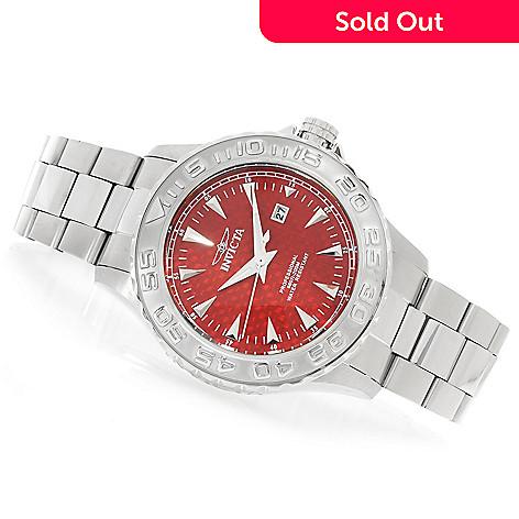 619-227 - Invicta 47mm Pro Diver Ocean Ghost Quartz Stainless Steel Bracelet Watch w/ Eight-Slot Dive Case