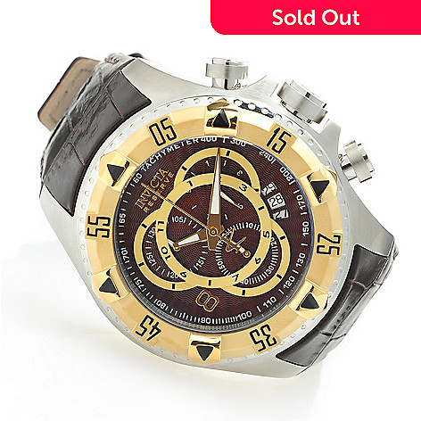 619-371 - Invicta Reserve 52mm Excursion Elegant Touring Swiss Quartz Chronograph Watch