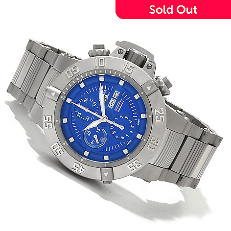 619-519 - Invicta Men's Subaqua Noma III Limited Edition Valjoux 7750 Automatic Bracelet Watch