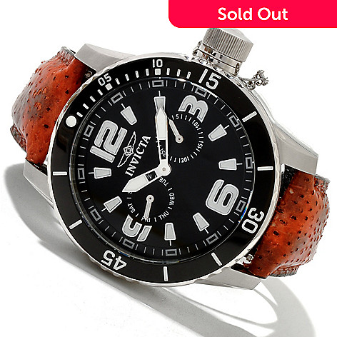 619-536 - Invicta Men's Corduba Diver Stainless Steel Wolffish Strap Watch