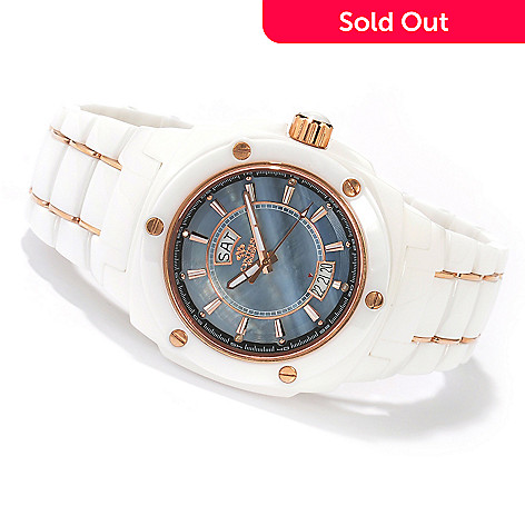619-563 - Oniss Galaxy Men's or Women's Quartz Ceramic Bracelet Watch