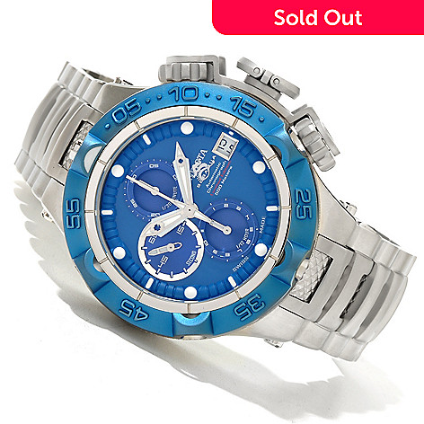 619-618 - Invicta Men's Subaqua Noma V Limited Edition A07 Valgranges Automatic Chronograph Bracelet Watch