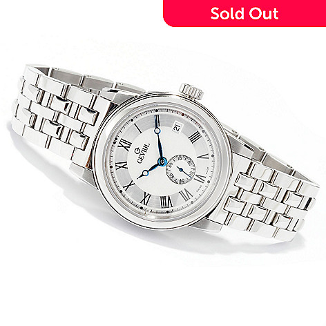 619-626 - Gevril Men's Madison Limited Edition Swiss Made Automatic Stainless Steel Bracelet Watch