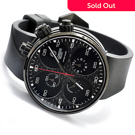 619-627 - Meccaniche Veloci Men's Quattro Valvole Swiss Made Valjoux 7750 Automatic Chronograph Strap Watch
