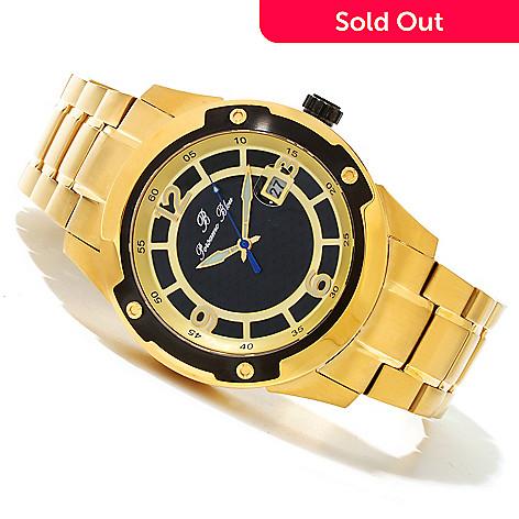 619-684 - Porsamo Bleu Men's Tokyo Automatic Stainless Steel Bracelet Watch