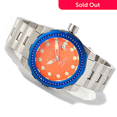 619-687 - Android Midsize (45mm) Stance Limited Edition Automatic 316L Stainless Steel Bracelet Watch