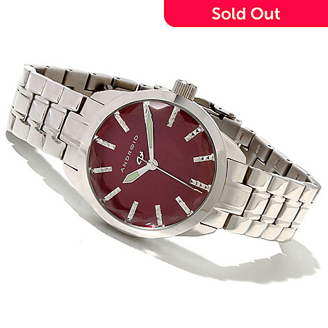 619-696 - Android Women's Prism Quartz Stainless Steel Bracelet Watch