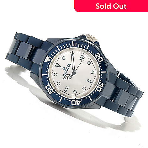 619-706 - Invicta Mid-Size Pro Diver Quartz Ceramic Bracelet Watch