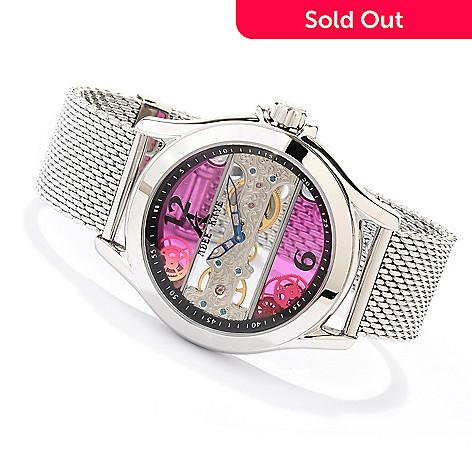 619-776 - Adee Kaye Men's Treasure Hunter Mechanical Bracelet Watch