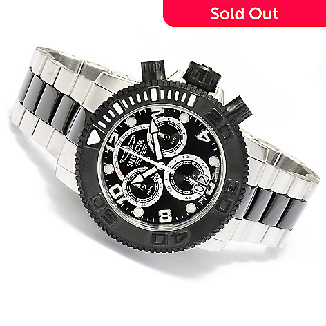 619-814 - Invicta Men's Sea Hunter Swiss Quartz Chronograph Stainless Steel Bracelet Watch