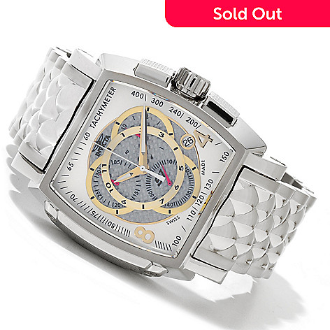 619-816 - Invicta Men's S1 Rally Swiss Quartz Chronograph Stainless Steel Bracelet Watch