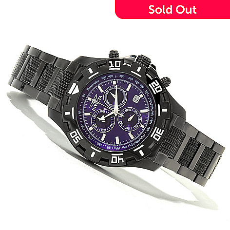 619-908 - Invicta Men's Specialty Quartz Chronograph Stainless Steel Bracelet Watch