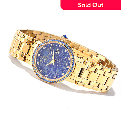 619-939 - Clara by CW Women's Quartz Bracelet Watch Made w/ Swarovski® Elements