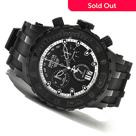 620-064 - Invicta Reserve 52mm Specialty Subaqua Swiss Made Quartz Chronograph Stainless Steel Watch