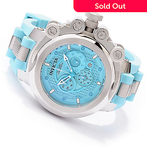 620-071 - Invicta Men's Coalition Forces Swiss Made Quartz Chronograph Stainless Steel Strap Watch