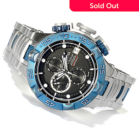 620-075 - Invicta Men's Subaqua Noma V Limited Edition A07 Valgranges Chronograph Bracelet Watch